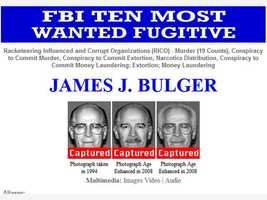 The FBI quickly changed its website after Bulger's arrest