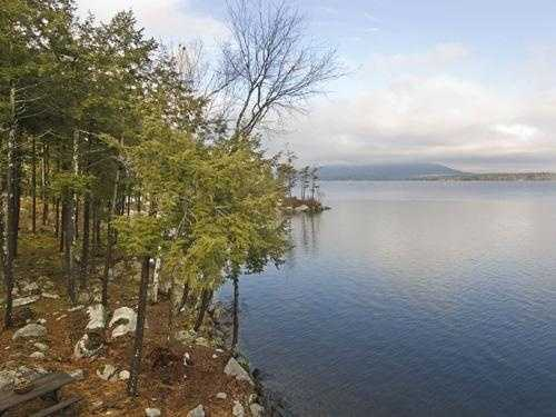 The property has 1,250 feet of Lake Winnipesaukee waterfront.