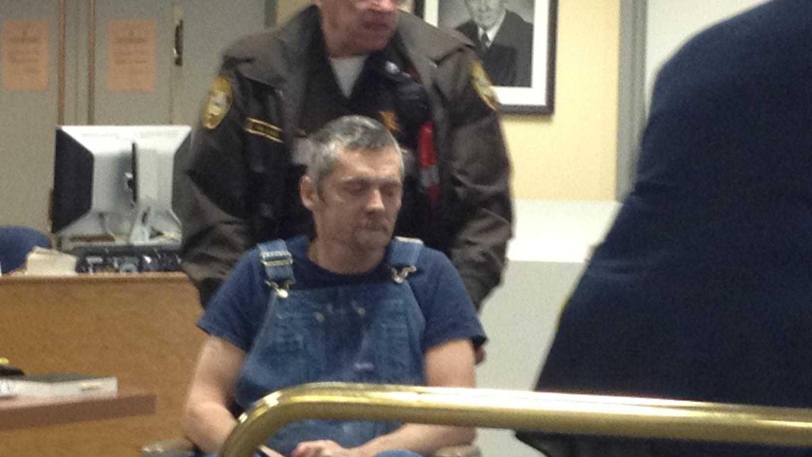 David Carrier in court