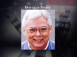 Douglas Stone, 54, of Dover, was known for his dry and cynical sense of humor. He was aboard flight 11, headed to California on business, and to help his son settle in for his freshman year at UCLA.