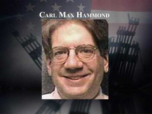 """Carl """"Max"""" Hammond, 37, moved to Derry just a few months before he boarded Flight 175. Hammond held a Doctorate in physics and had a job in top secret research."""