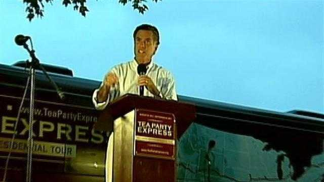 Romney Speaks at Concord Tea Party Rally Sept. 5, 2011