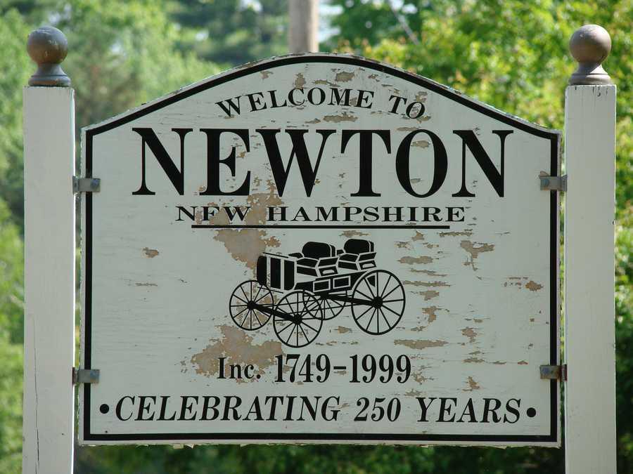 16. (tie) Newton - 8.2%