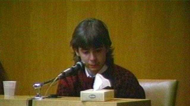 Billy Flynn testifies in the Pamela Smart murder trial.