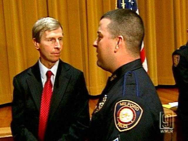 Dec. 15, 2009 - Two police officers honored for their role in rescuing Jaimie Cates said she is the real hero for calling 911 after she was severely injured in a vicious home invasion that left her mother dead.