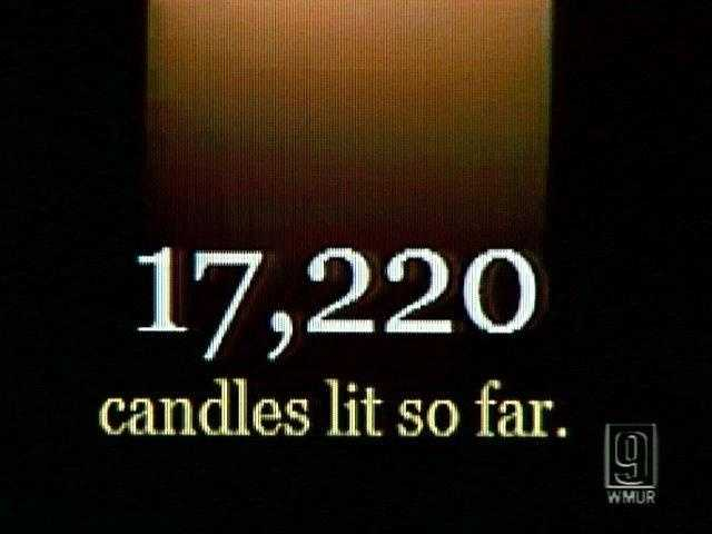Oct. 10, 2009 - Thousands of people posted their thoughts on the Web site wearebetterthanthis.com. By Saturday evening, there were more than 17,000 candles with messages from across New Hampshire, the United States and 20 different countries around the world.