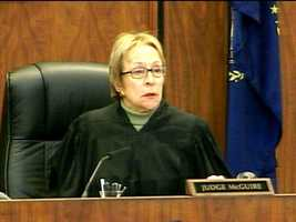 Judge Kathleen A. McGuire presided over Addison's trial at Superior Court in Manchester.
