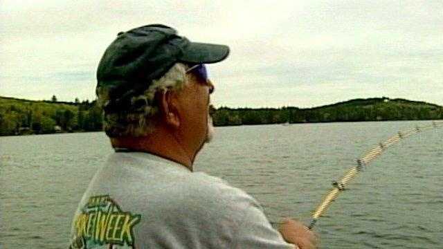 Fisherman At Winni Derby