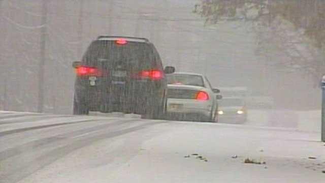 Snowy Traffic - 14649893