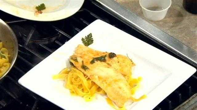 Annibale Todesca of The Colosseum shows how to make this easy seafood and pasta dish.