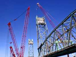 Work being done: The project involves the complete replacement of the bridge with a similar-looking structure. The project also includes the replacement of the Scott Avenue Bridge on the New Hampshire side and the Kittery Approach Span on the Maine side.