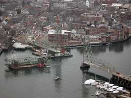 Memorial Bridge Project: The 90-year-old Memorial Bridge that connects Portsmouth, N.H., to Kittery, Maine, is being replaced.