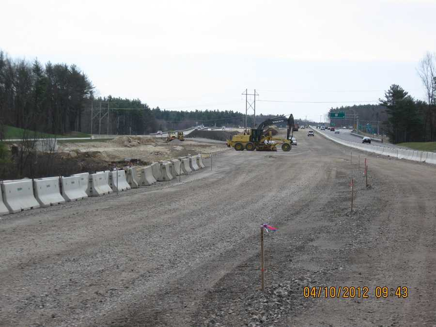 Purpose: Once completed, this section of Interstate 93 will be expanded north and south to three lanes each.