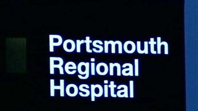 A baby was left at Portsmouth Regional Hospital Saturday morning.