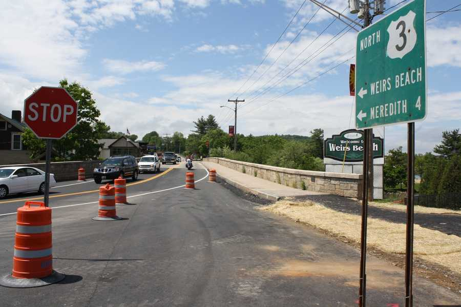 New Roundabout at NH 11B/US 3 Near Weirs Beach in Laconia: Construction has begun on New Hampshire's newest roundabout to address traffic safety and congestion concerns at the intersection of NH 11B and US 3 near Weirs Beach in Laconia.