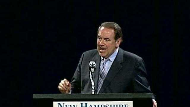 Huckabee in NH