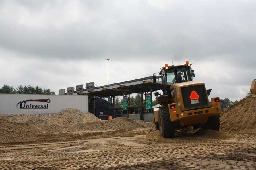 Completion date: The new ORT lanes are scheduled to be open in July of 2013.