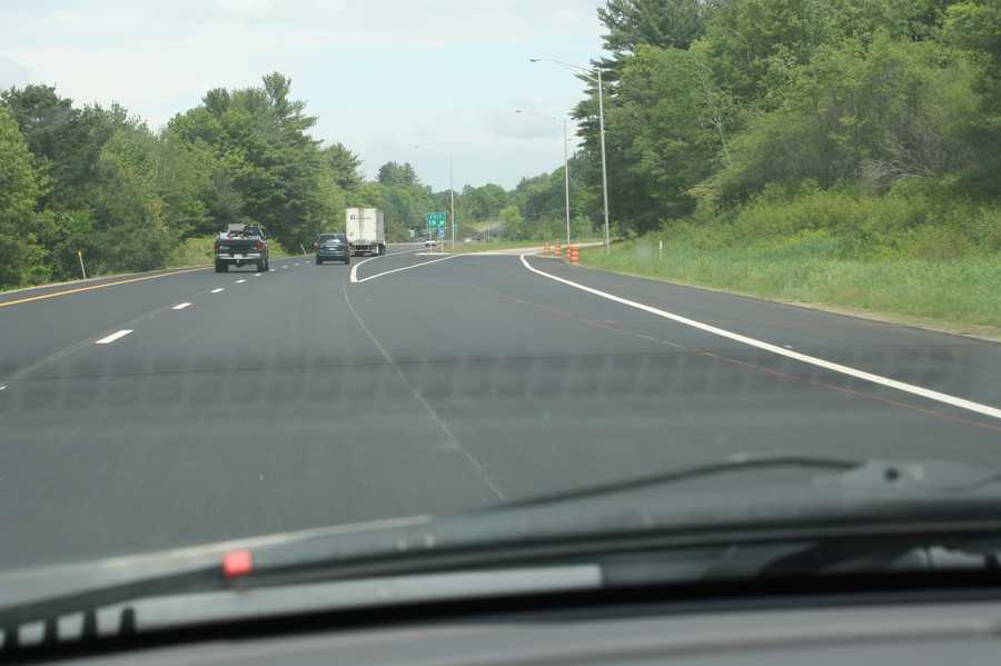 I-93 project in Northfield: This project involves pavement and bridge rehabilitation work on I-93, both northbound and southbound, from Exit 19 north for 2.5 miles to just south of Exit 20.