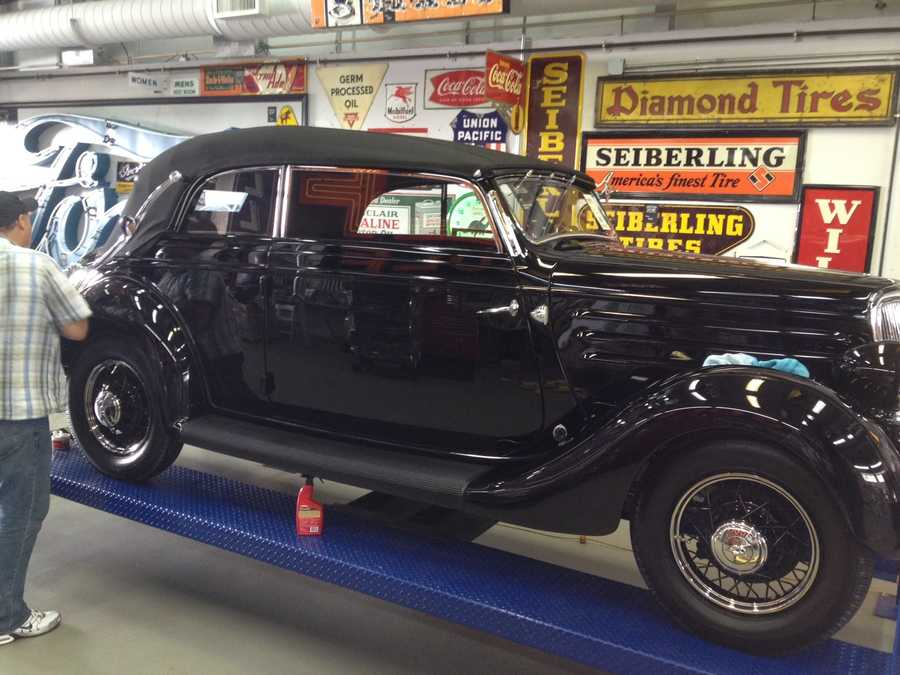 Photos: Rare collection of cars, signs up for auction