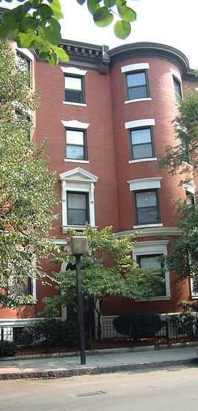 77 Gainsborough Street, site of the first murder attributed to the Boston strangler.