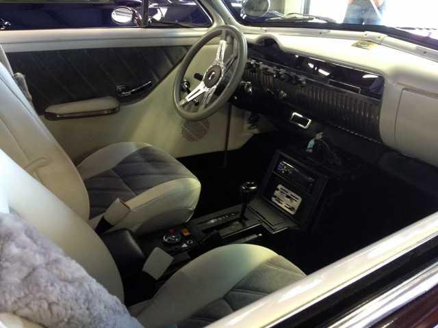 1950 Mercury interior