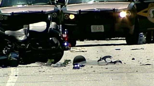 Several deadly motorcycle crashes were reported on Friday.
