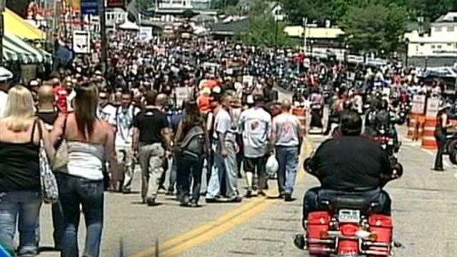 Increased police presence at Motorcycle Week