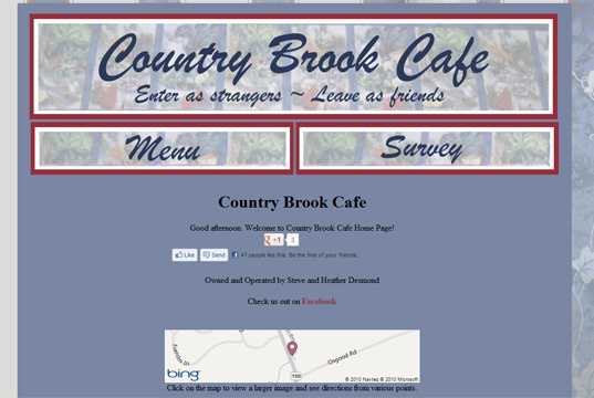 1. Country Brook Café - Kensington