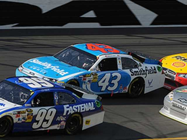 Aric Almirola will be racing for Rochester on July 15.