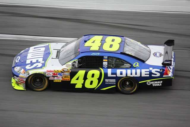Jimmie Johnson is going to be racing for Laconia on July 15.