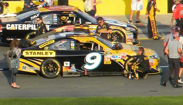 Marcos Ambrose will be racing for Keene on July 15.