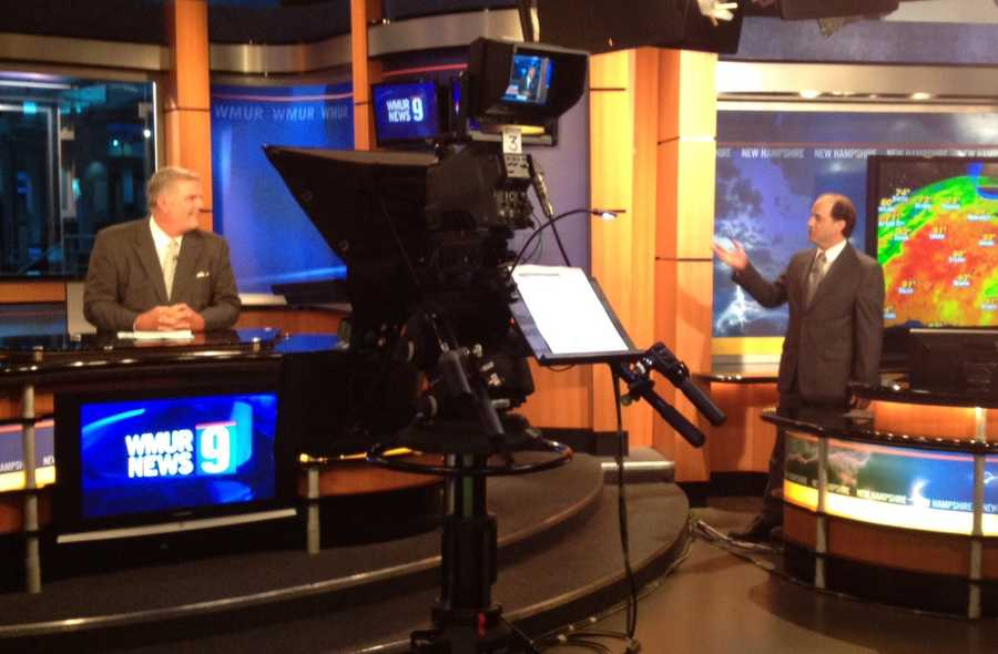 10:09 pm: Tom Griffith and Mike Haddad talk on-air.
