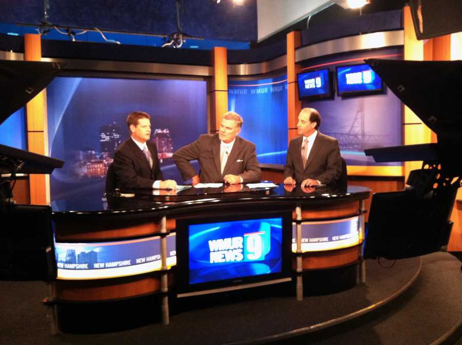 11:25 pm: Jamie Station, Tom Griffith and Mike Haddad are at the desk.