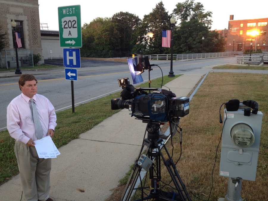 Ray Brewer about to begin reporting live in Rochester.