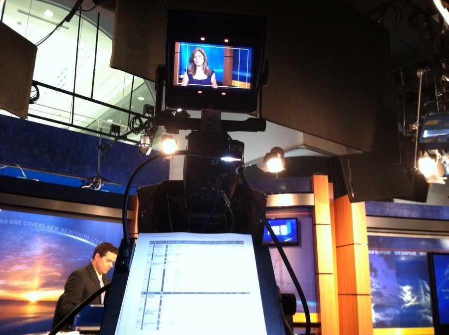 Camera operator's shot sheet on set.