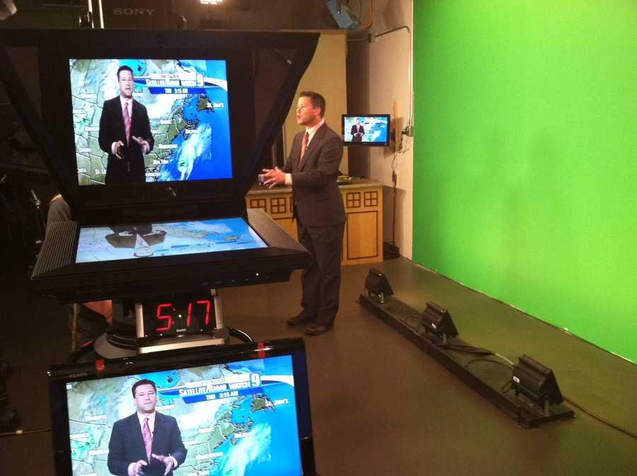 Kevin Skarupa bringing you the weather.