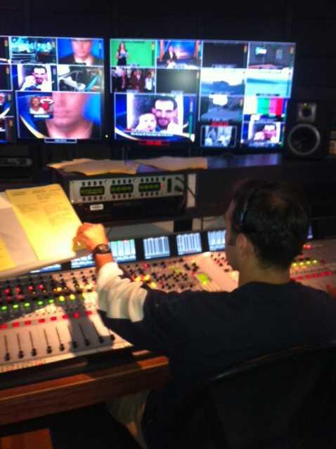 Daniel Velchev directing Daybreak.
