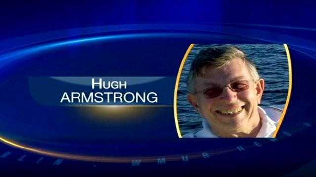 Hugh Armstrong has been found safe in his home state of North Carolina, say authorities.