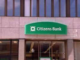 No. 1: Citizens Bank ATMs -- $980,440