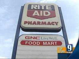No. 12: 12 Rite Aid -- $37,412.82 (purchases, purchase with cash back, cash withdrawals)