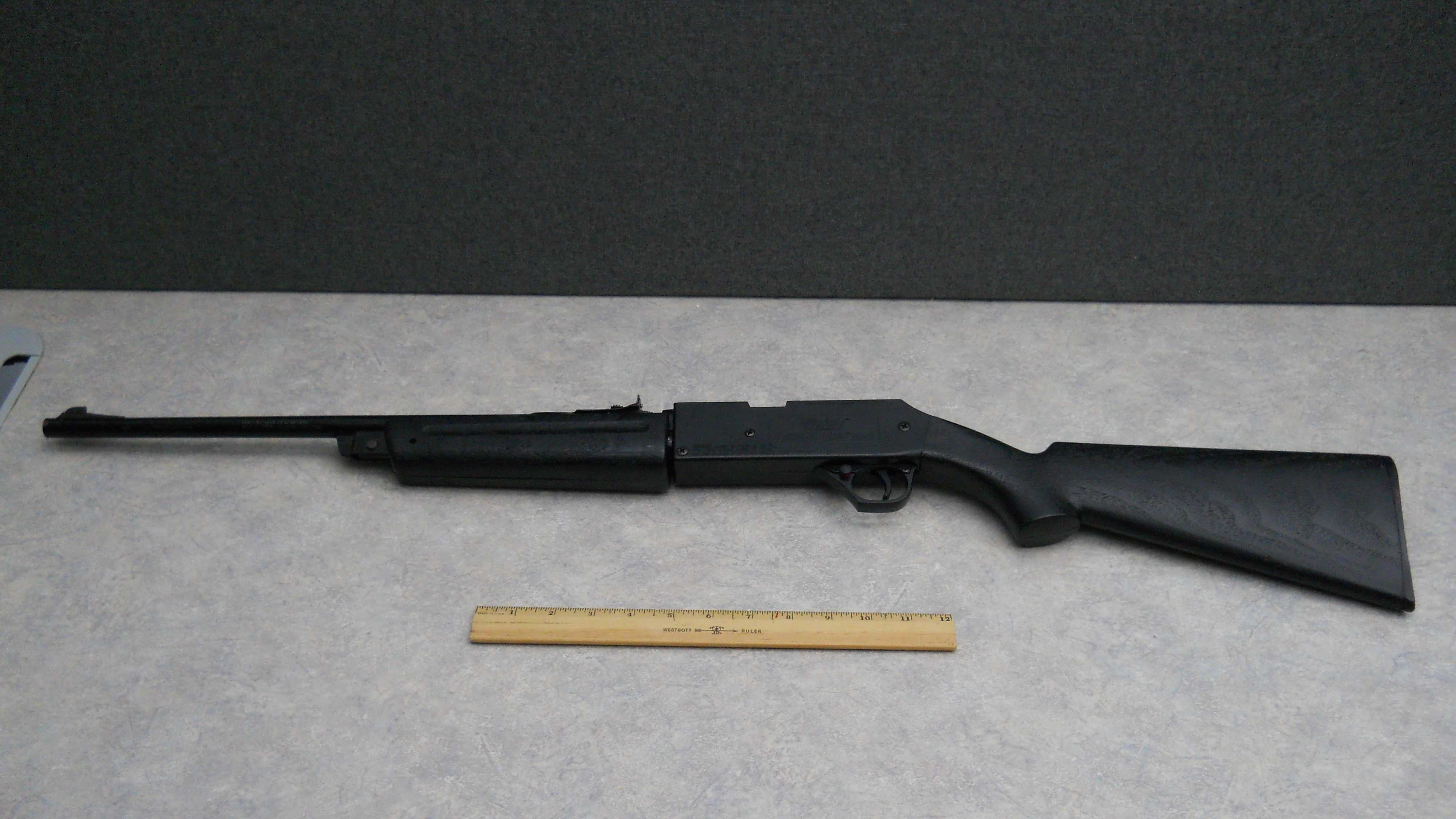 Air rifle found on Concord rooftop