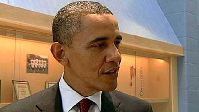 President Barack Obama spoke with WMUR exclusively during his visit to New Hampshire this weekend.