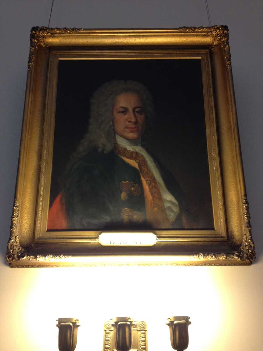 Jonathan Belcher, Gov. of Province of Massachusetts Bay, which included New Hampshire (1730-1741)