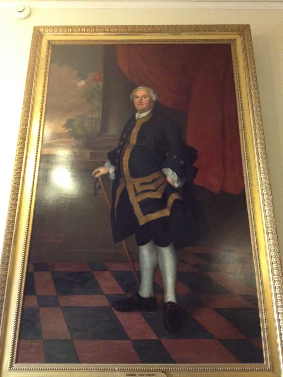 Benning Wentworth, Governor of the Province of New Hampshire (1741-1766)