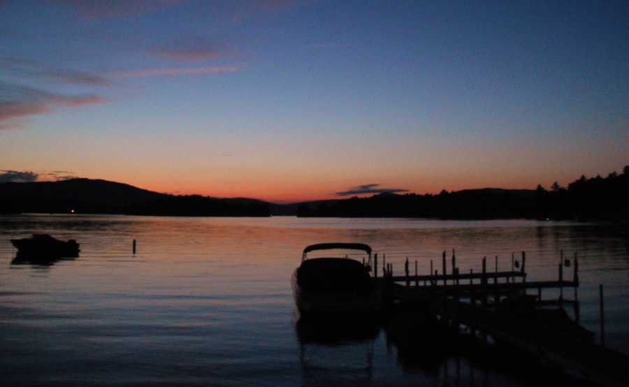 No. 1: Newfound Lake from Wellington State Park in Bristol