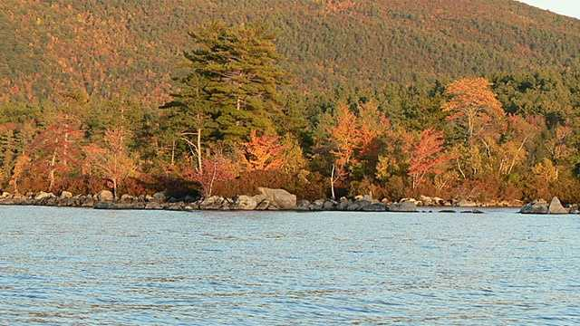 No. 12 (tie): Squam Lake in Holderness, N.H.