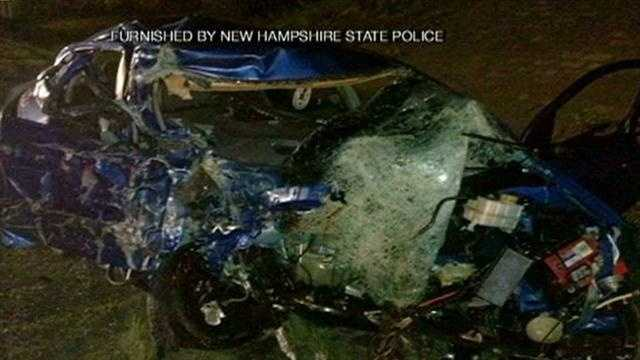 State police say a wrong-way driver was killed Monday night after causing a series of accidents on Interstate 95.