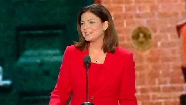 N.H. Sen. Kelly Ayotte spoke at the Republican National Convention Tuesday night.