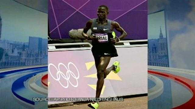 Guor Marial on Marathon