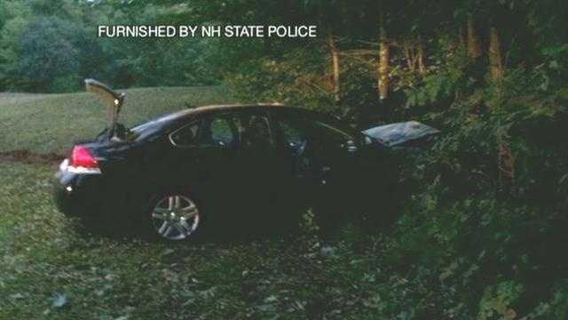 Woman killed in crash af police chase